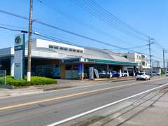 東北道「西那須野塩原I.C」を大田原方面へ。西三島交差点を右折しますと、左側に当店がございます。
