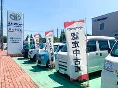 全車安心の1年保証付販売です。全国のトヨペットサービス工場にて保証、整備が受けられます。