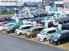 国道4号線沿いです★安心のT-Value車多数展示中★買取・下取りも強化中です(^^)支払総額表示でお客様に優しいお車選びを★