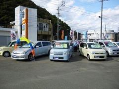 こちらがU-Car展示場になります。