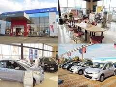 ネッツトヨタ盛岡村崎野店です!話題の新車や充実のラインナップの中古車までお取扱いしております!お車をお探しの際は当店へ!