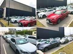 レクサスの中古車を中心に、展示しております。優れた品質をお届け出来るよう点検整備、保証、ご購入後のサポートも充実!!!