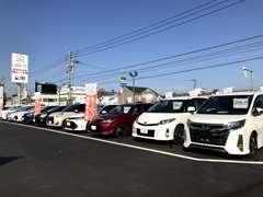 全車トヨタ認定の評価証付きで安心です♪総台数50台以上展示中♪