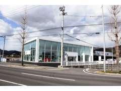 店舗は国分寺町の国道11号線沿いにあります