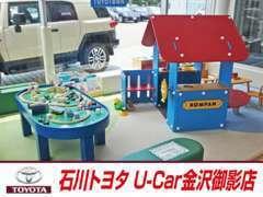 ☆キッズコーナー完備♪お子様が楽しく遊んで頂けるように沢山のおもちゃをご用意しております。ゆっくりとお過ごしください♪