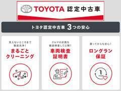 ★充実した保証が付くから、さらに安心なトヨタのU-Car★