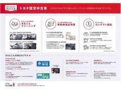 安心のトヨタU-Carブランド「トヨタ認定中古車」取扱い店!