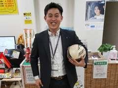 営業の中磨です。元プロサッカー選手として活動してました。これからはプロのディーラーとして活躍します!携帯:070-3773-5784