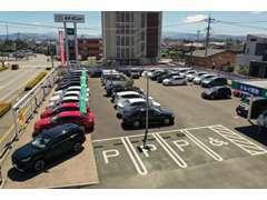 [GAZOO」で弊社在庫車はもちろん、全国トヨタ販売店の在庫車のなかから検索できます。