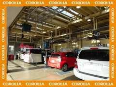 当店ではお車のご購入後のアフターメンテナンスとして自社指定工場を完備しております♪お車のメンテナンスも当店にお任せ下さい