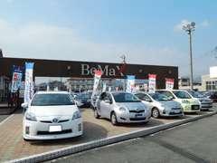 BeMaxにはトヨタ車をはじめとするU-Carを豊富に展示いたしております。是非一度ご来店くださいませ。