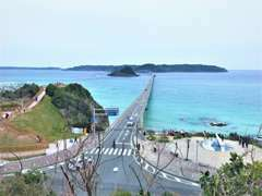 ☆おすすめドライブコース☆下関のドライブと言えば角島♪♪当店から角島まで1時間程で行くことができます♪