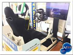 VRレーシングシミュレーターでは、衝突被害軽減ブレーキ等トヨタの安全装置をリアルに体感する事ができます!!