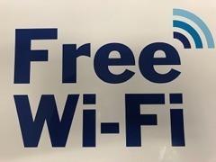Free Wi-Fi 入ってます!スマホの充電器も用意しております!!