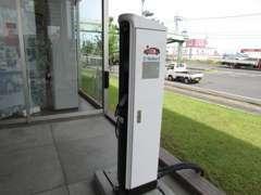 プラグインハイブリッドなど、EV充電が可能です。