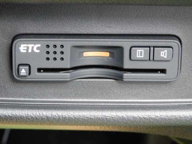 ETCは、ビルトインタイプです