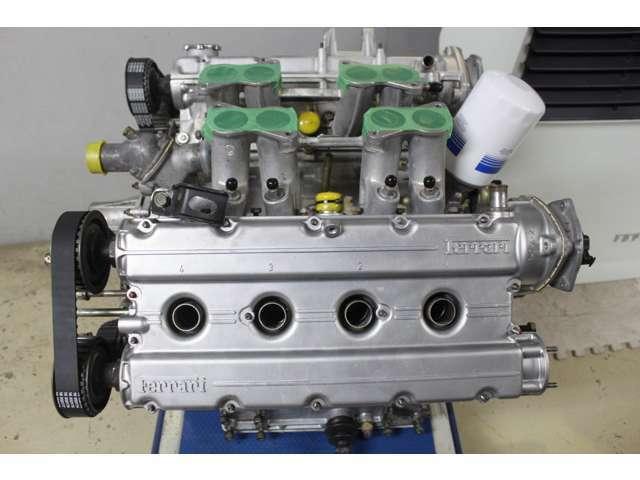 ★綺麗に仕上がったエンジン画像です♪お客様の元での整備等はこれで問題御座いませんのでご安心してご購入下さい♪