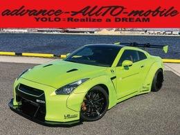 日産 GT-R 3.8 ブラックエディション 4WD LBボディキット/車高調/20インチ/マフラー