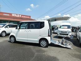 ホンダ N-BOX+ 660 G 車いす仕様車 スローパー ウインチ 4WD CD 福祉車両