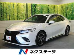 トヨタ カムリ 2.5 WS 禁煙車 1オーナー TRDエアロ 純正9型ナビ