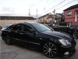 トヨタ クラウンアスリート 3.5 プレミアムエディション 20AW 車高調 サンルーフ 黒本革 DVD再生