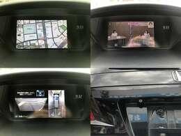 ☆メーカーナビは、HDD機能、全方位カメラも装備しております。