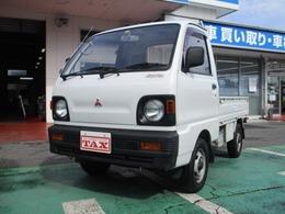三菱 ミニキャブトラック 660 TD 三方開 4WD 車検整備付き