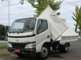 トヨタ トヨエース 4.9 三転ダンプ 高床 ディーゼル 3t・本州仕入・荷台塗装済