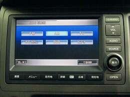 ナビ機能だけでなく、サウンドコンテナ、ワンセグテレビ、DVDとCD再生など、オーディオ機能がついています。