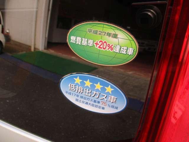 エコカー減税対象車。