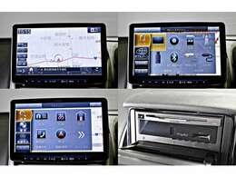 アルパイン11型大画面カーナビ フローティングビッグX 11「XF11Z」 DVD/CD再生・Bluetooth対応・ミュージックキャッチャー(SD)・フルセグTV