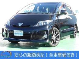 トヨタ エスティマ 2.4 アエラス 禁煙車Mナビ1セグHIDクルコETCBカメラ