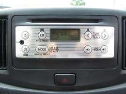 ドライブのお供はこれにお任せ!純正のCD・AUX対応オーディオで楽しいドライブをお楽しみいただけます♪