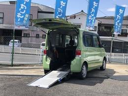 ダイハツ タント 660 フレンドシップ スローパー リヤシート付仕様 福祉車両 ナビ/地デジ/DVD/Bカメ