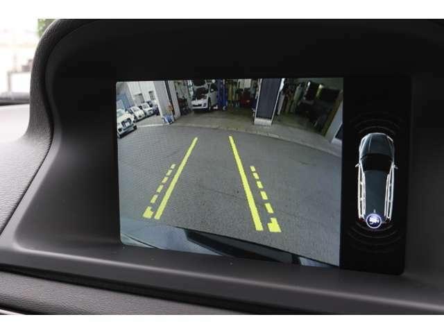 バック駐車時も安心のバックカメラが装着されています。  危険な死角を減らしてバック事故防止に有効な装備です!