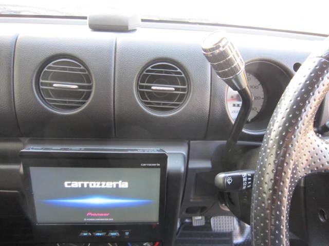 HDDナビはCDの録音もでき、外部音源、Bluetoothにも対応してます。フルセグTVが走行中も視聴可能!