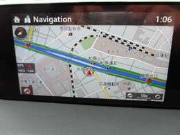 純正のマツダコネクトナビを装着、詳細で美しい地図画面と簡単操作が特徴です。地デジTVやCD・DVDの視聴、各種車両設定や車両情報、外部入力やBluetoothも利用できる優れものです。♪♪♪♪
