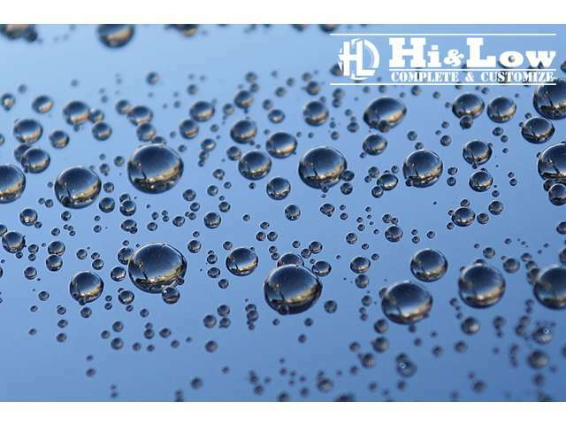 Bプラン画像:ガラスコーティング施行パックです。艶・撥水効果を実感して下さい。これで雨の日も安心です。※詳しくは当店スタッフにお問い合わせ下さい