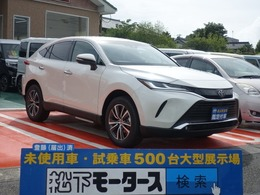 トヨタ ハリアー 2.0 G スマートキー LEDライト 登録済未使用車