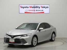 トヨタ カムリ 2.5 G レザーパッケージ 薄茶本革 TSS MOPナビ 走行23千K 1オーナー