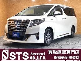 トヨタ アルファード ハイブリッド 2.5 G 4WD モデリスタエアロ ツインSR 後席モニター