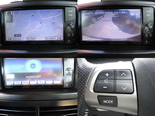 地デジ対応バックカメラ付純正SDナビ&CD&MP3&DVDビデオの組み合わせで、SDに録音が可能です。 AUX&BTオーディオで色々なポータブル機器にも対応しハンズフリーフォンの使用も可能です。