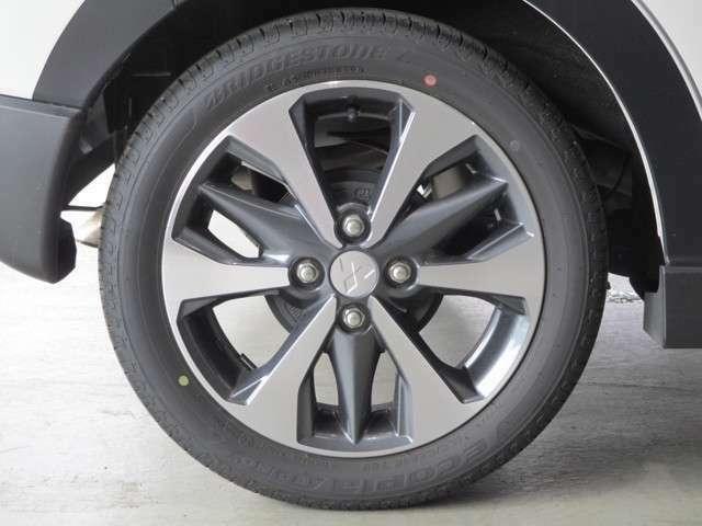 純正アルミホイール タイヤサイズ165/55R15インチ