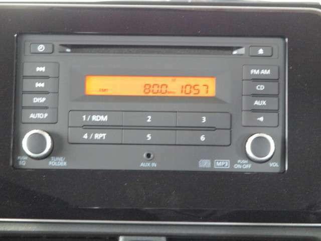 純正2DIN CDチューナー AM/FMラジオ CD再生