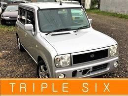 スズキ アルトラパン 660 ターボ 4WD 社外オーディオ 車検整備2年 Sヒーター