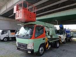 H17年式キャンター 高所作業車 AICHI製12M5MT車積載荷重:200kg