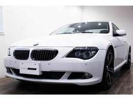 正規ディーラー車 BMW 650i 右ハンドル アルピンホワイトIII/ブラックレザー