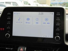 メーカーオプション8インチディスプレイオーディオ装備!純正オプションでナビ・フルセグTVにグレードUPが可能です!