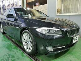 BMW 5シリーズ 528i D車/1オーナー/サンルーフ/ブラックレザ-