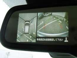 アラウンドビューモニターも装備されています!車庫入れの際には後方の安全確認もバッチリ!安心して車庫入れが出来ます!